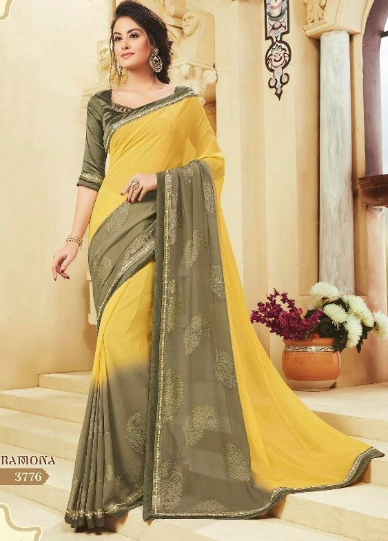 Office Wear Latest Designer Saree
