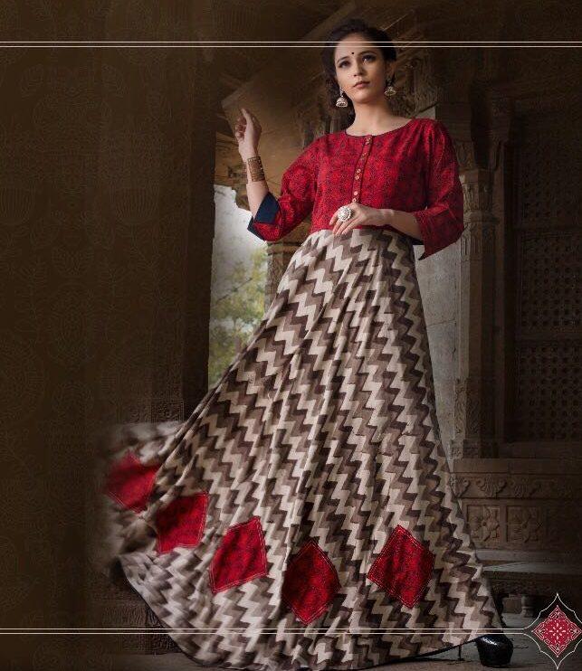 Royal Designer Boollywood Style Long Gown Dress