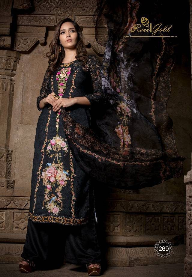 Kashmir Phulwaari Shahi Libas for Royal Women Winter Wear