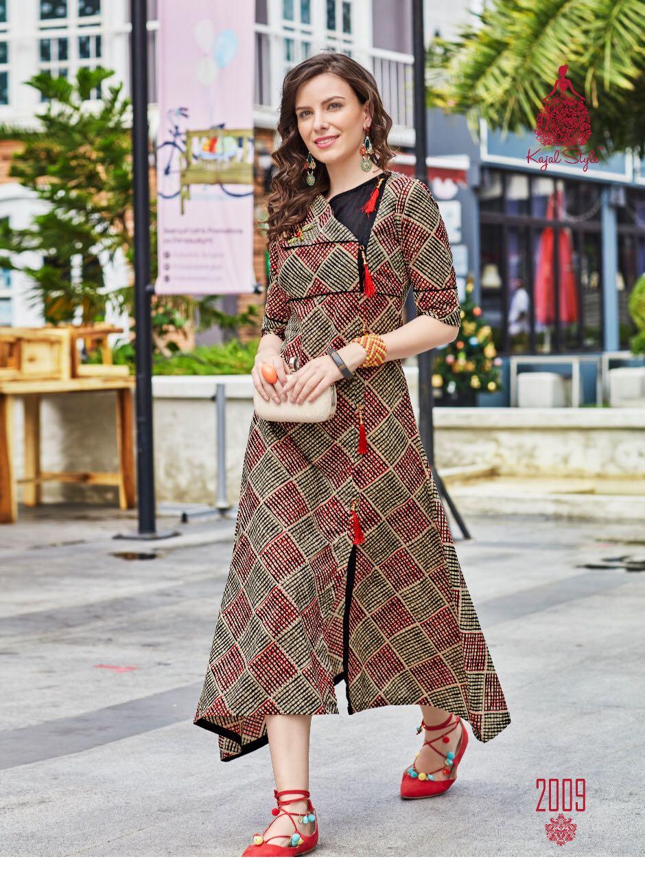 Kundali Bhagya Latest Designer Anarkali Style Kurti