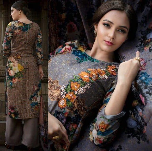 Royal Winter Wear Salwar Suits