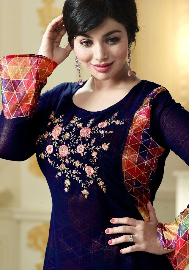 Ayesha Takiya Style Lavina Royal Embroidered Bollywood Kurti