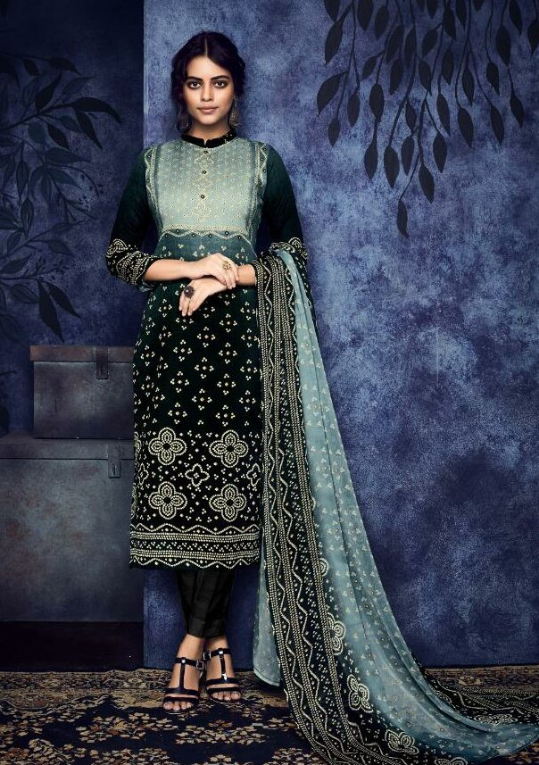 Latest Designer Jaipuri Print Cotton Salwar Suits