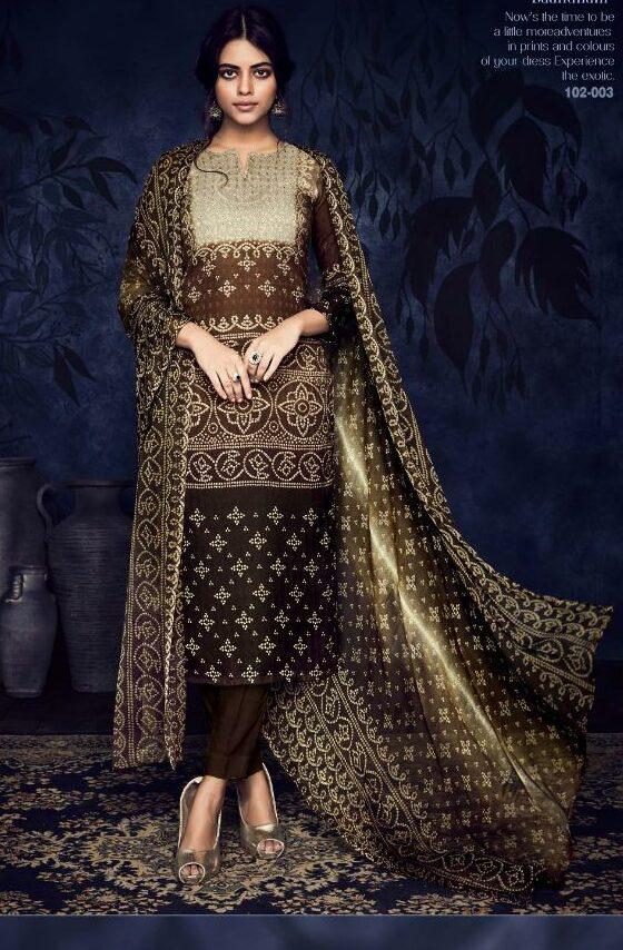 Summer Cotton Latest Designer Salwar Suits