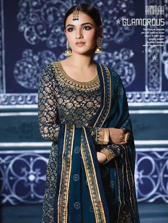 Punjabi Glamorous Wedding Party Wear Salwar Suits