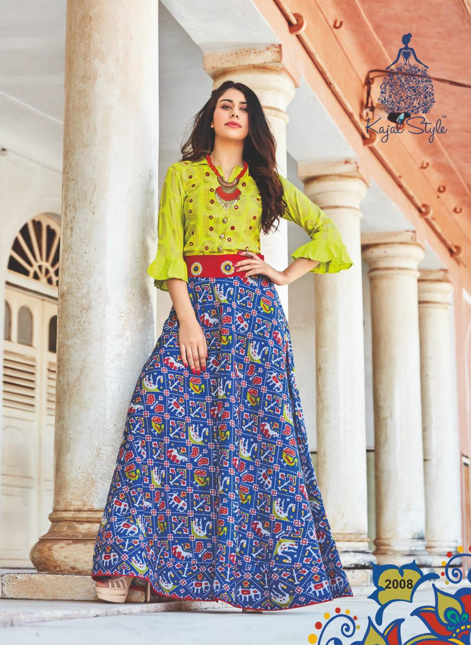 Latest Designer Kurti 2019 with Lehenga