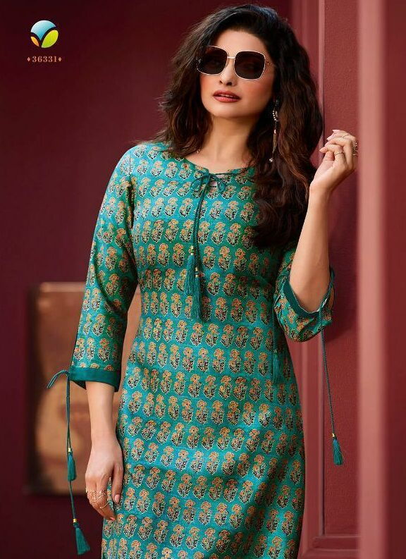 New Latest Designer SkyBlue Kurti