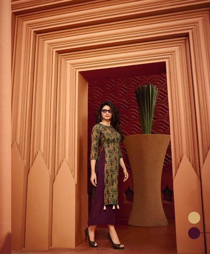 New Stylish Fashion Designer blackberry Kurti