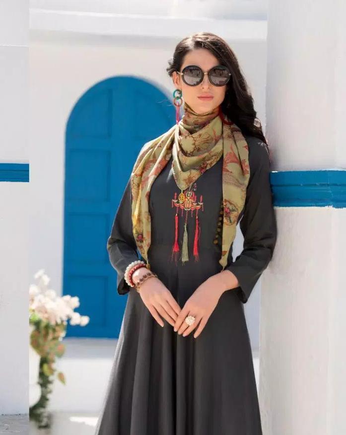 Kundali Bhagya Anarkali Designer Long Kurti