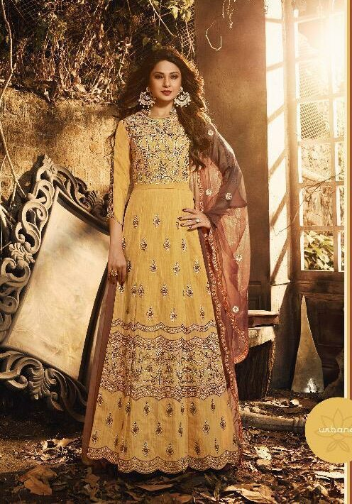 Haldi Function Latest Dress Design for Engagement Party