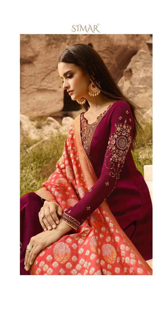 Elegant Salwar Kameez With Heavy Work