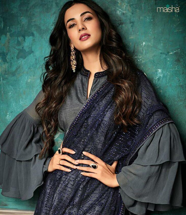Grey Colour Dress Images