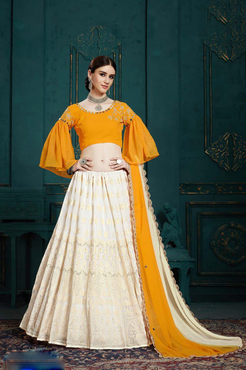 Haldi Function Dresses