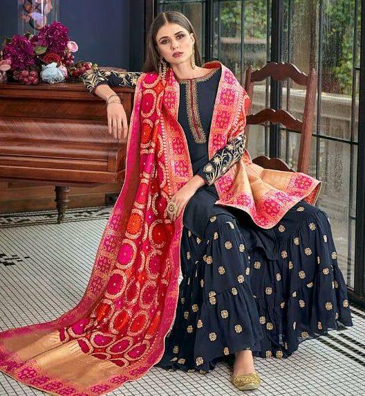 Punjabi Sharara Suits