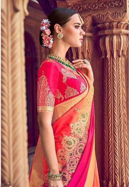 Saree Design for Wedding