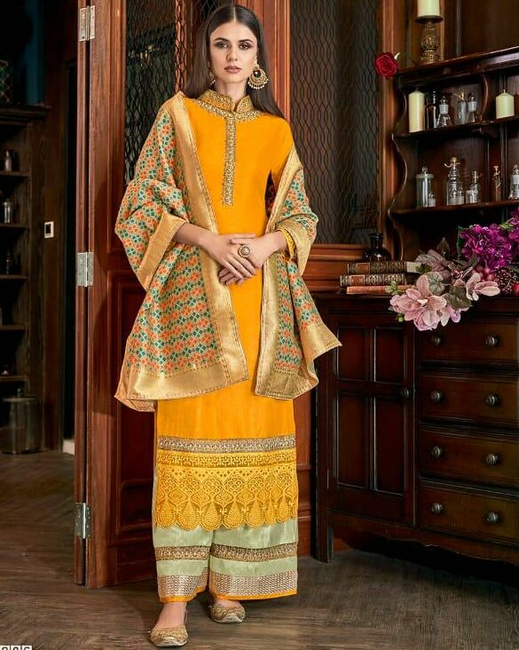 Indian Haldi Ceremony Outfits