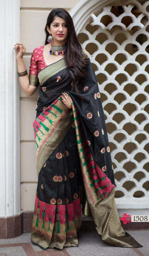 Digital Print Silk Saree in Bangalore