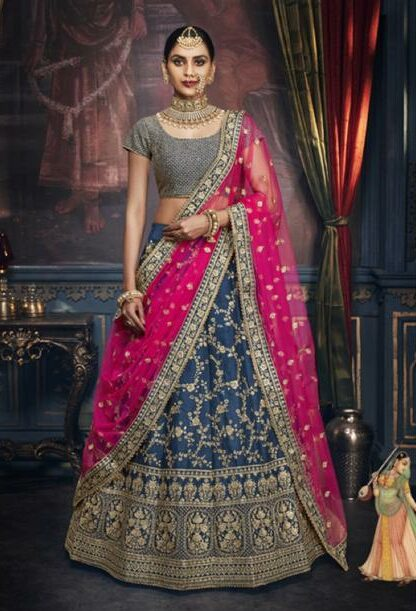 Lehenga with Designer Blouse