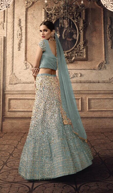 Light Colour Light Colour Lehenga for Engagement