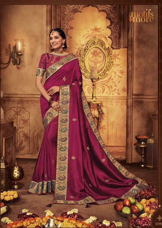 Designer Reception Sarees For Indian Weddings