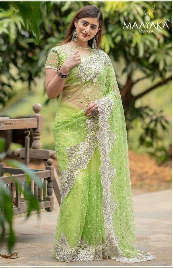 Designer Saree For Wedding Reception Online