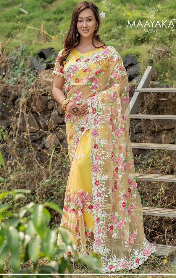 Designer Sarees For Wedding Reception Online