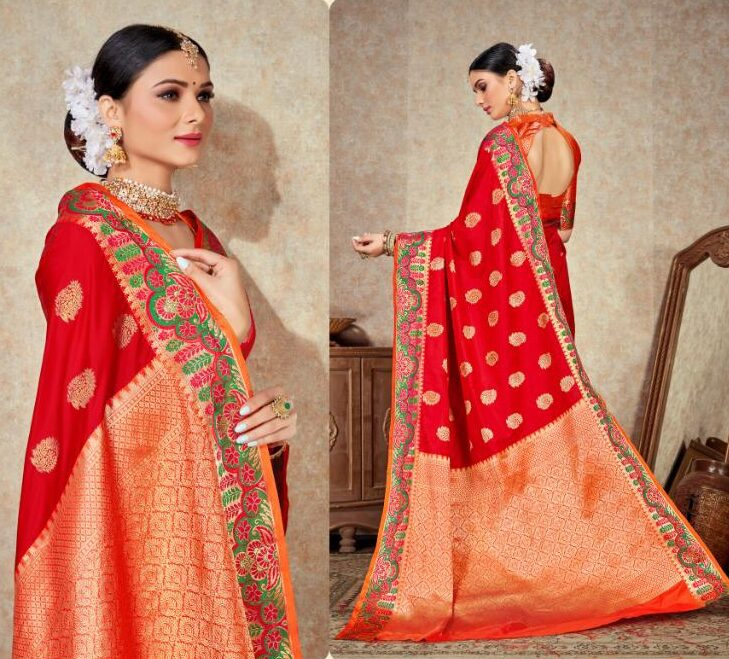 Designer Silk Sarees With Price