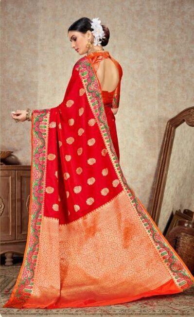 Designer Silk Sarees With Price