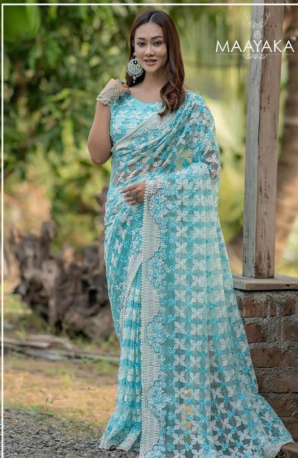 Latest Wedding Sarees Design