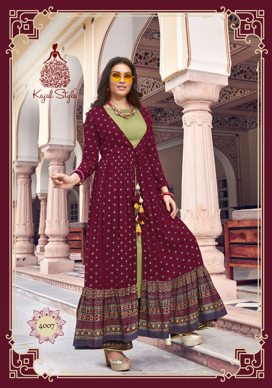 Long Shrug Kurti Designs