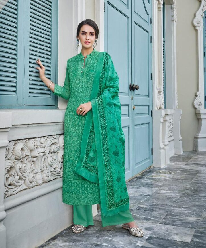 Long Kurti with Pants