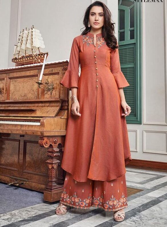 Plazo Dress Images With Price