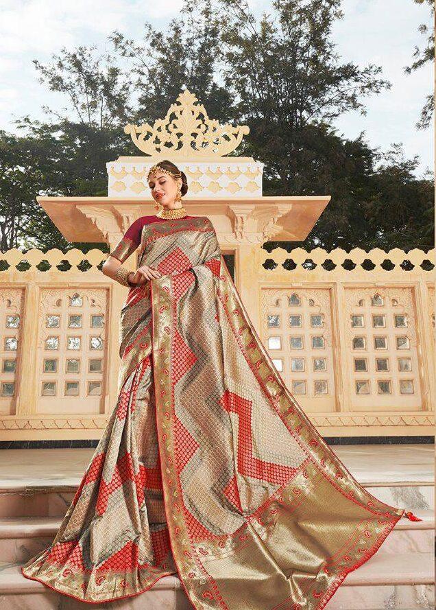 Celeb Saree For Kerala Wedding Wear Saree