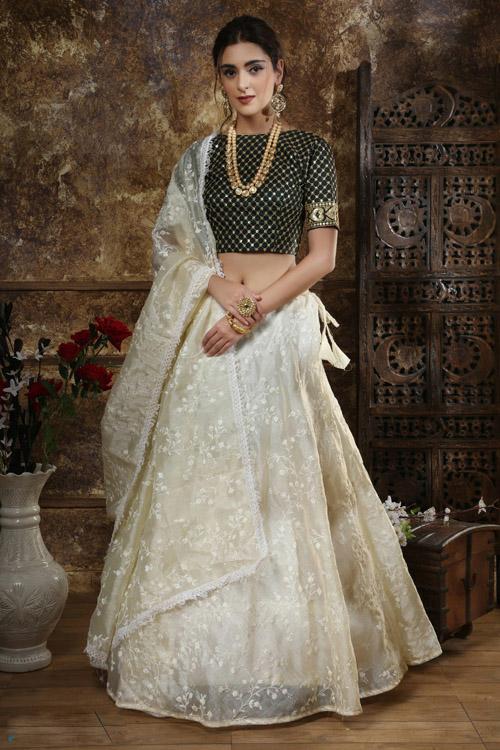 Lehenga Choli Online Shopping | Designer Lehenga Party Wear