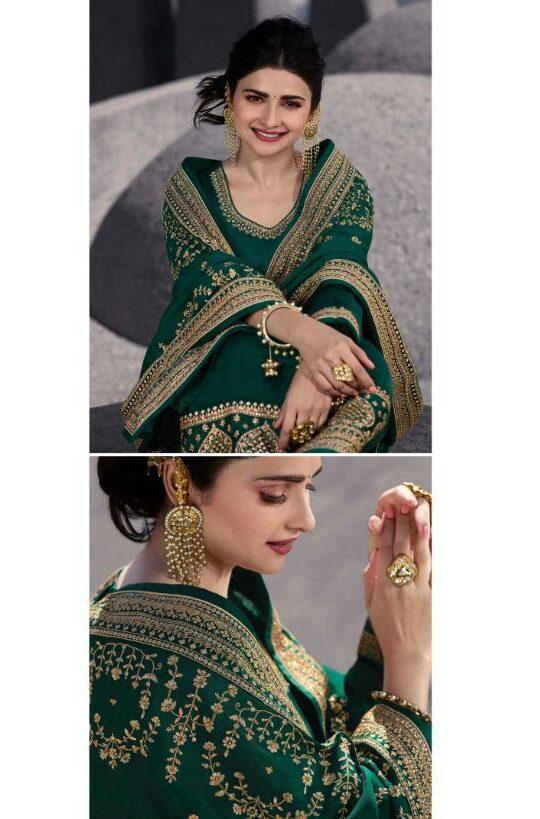 green salwar suit womens