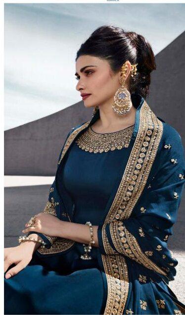Navy Blue Salwar Suit for Ladies