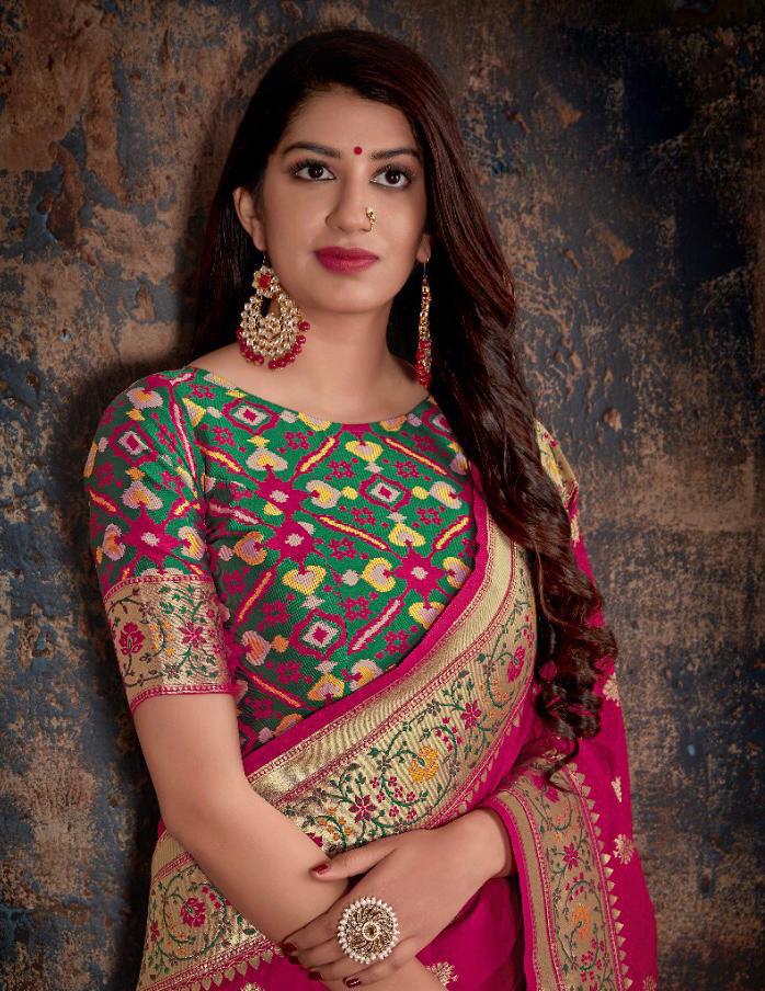 New Fashion Designer Silk Saree for Wedding Reception