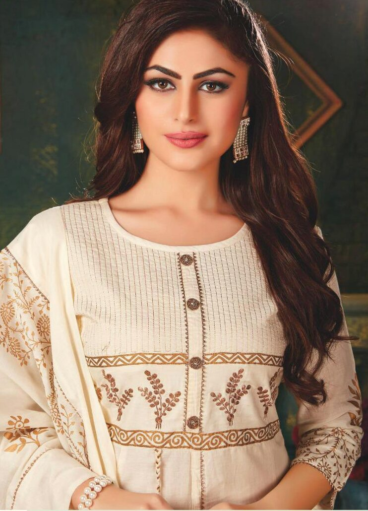 White Kurti Designs for Female