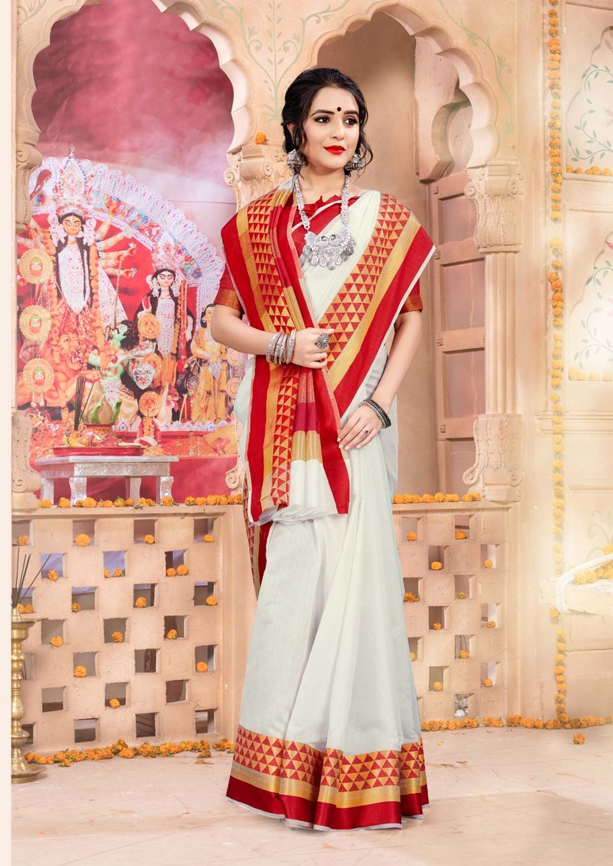 Bengali Traditional Saree Images