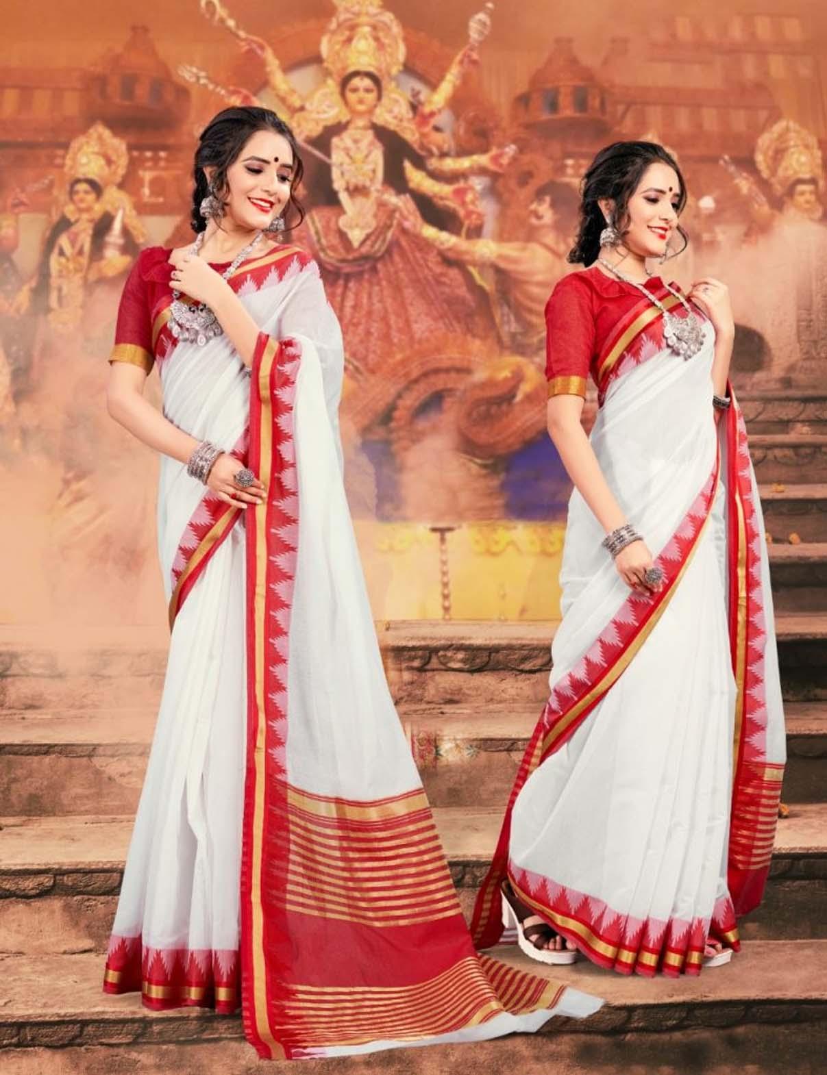 Kolkata Durga Puja Saree Online