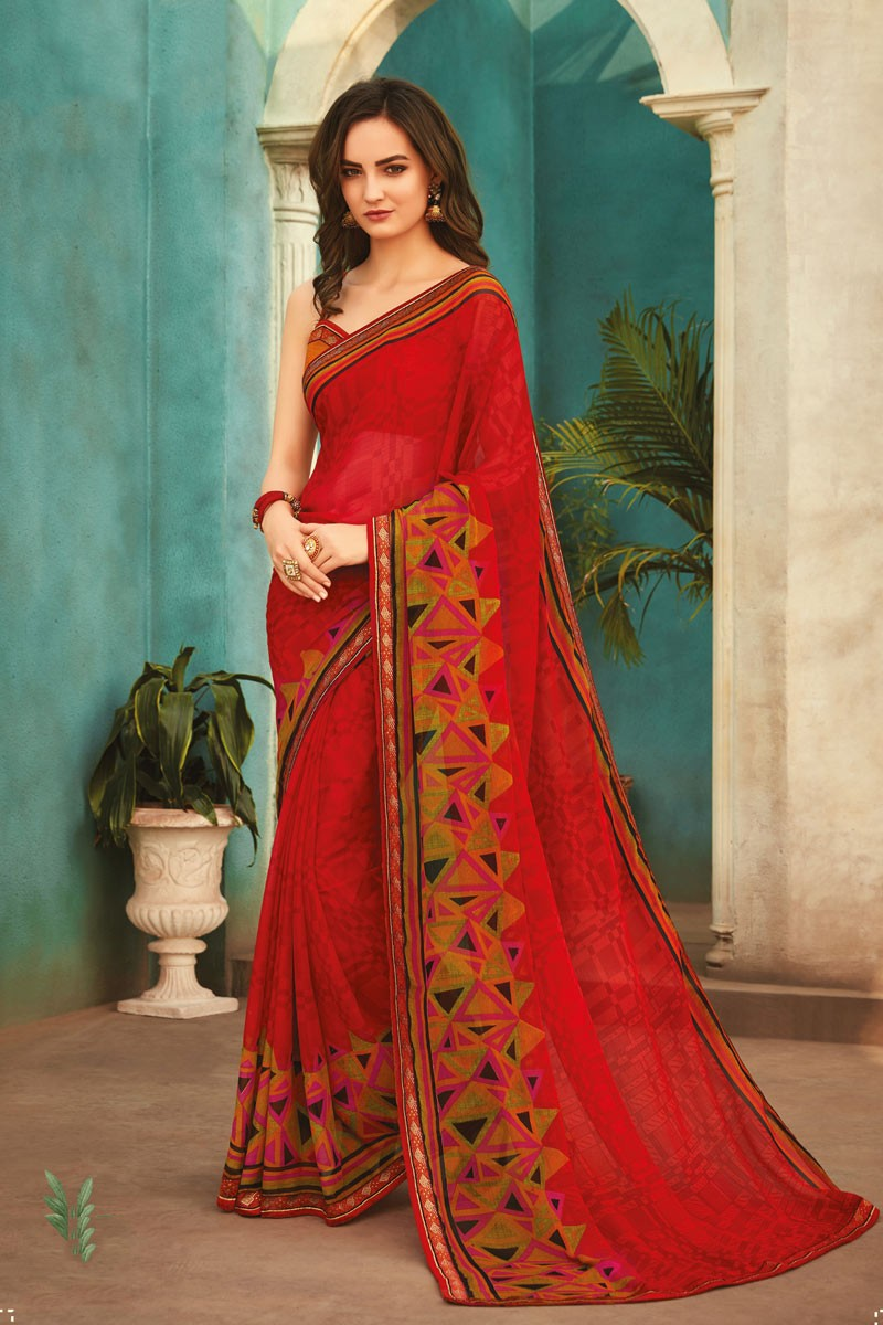 Latest Daily Wear Sarees with Price