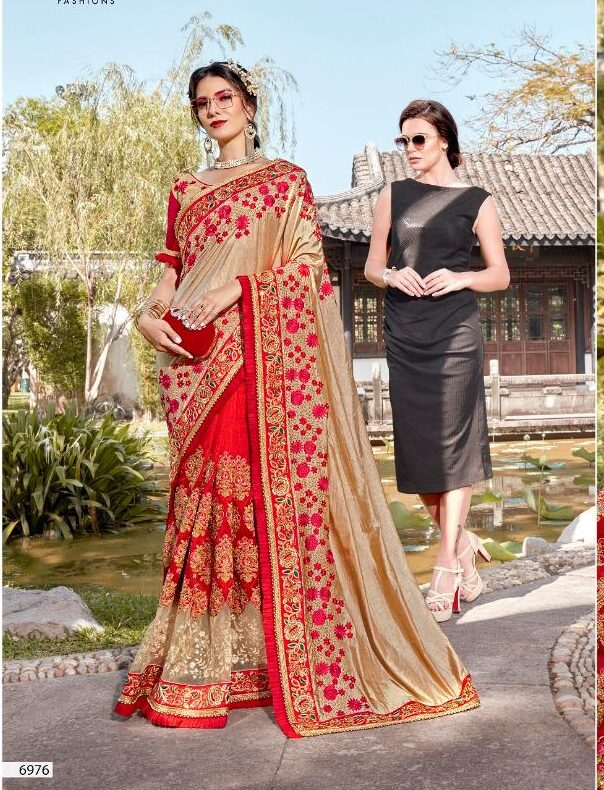 New Designer Bridal Saree Collection 2020