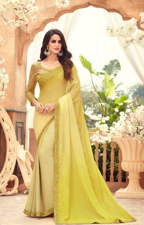 Heavy Work Blouse Designs for Silk saree