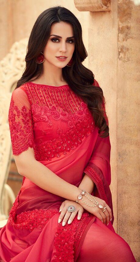 Indor Royal Karwa Chauth Saree Shopping