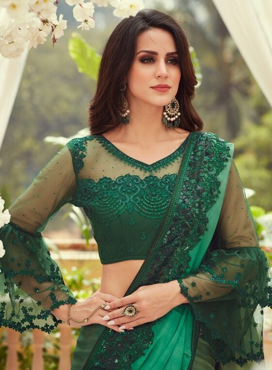 Latest Wedding Saree Trends for New Bride Daily Wear