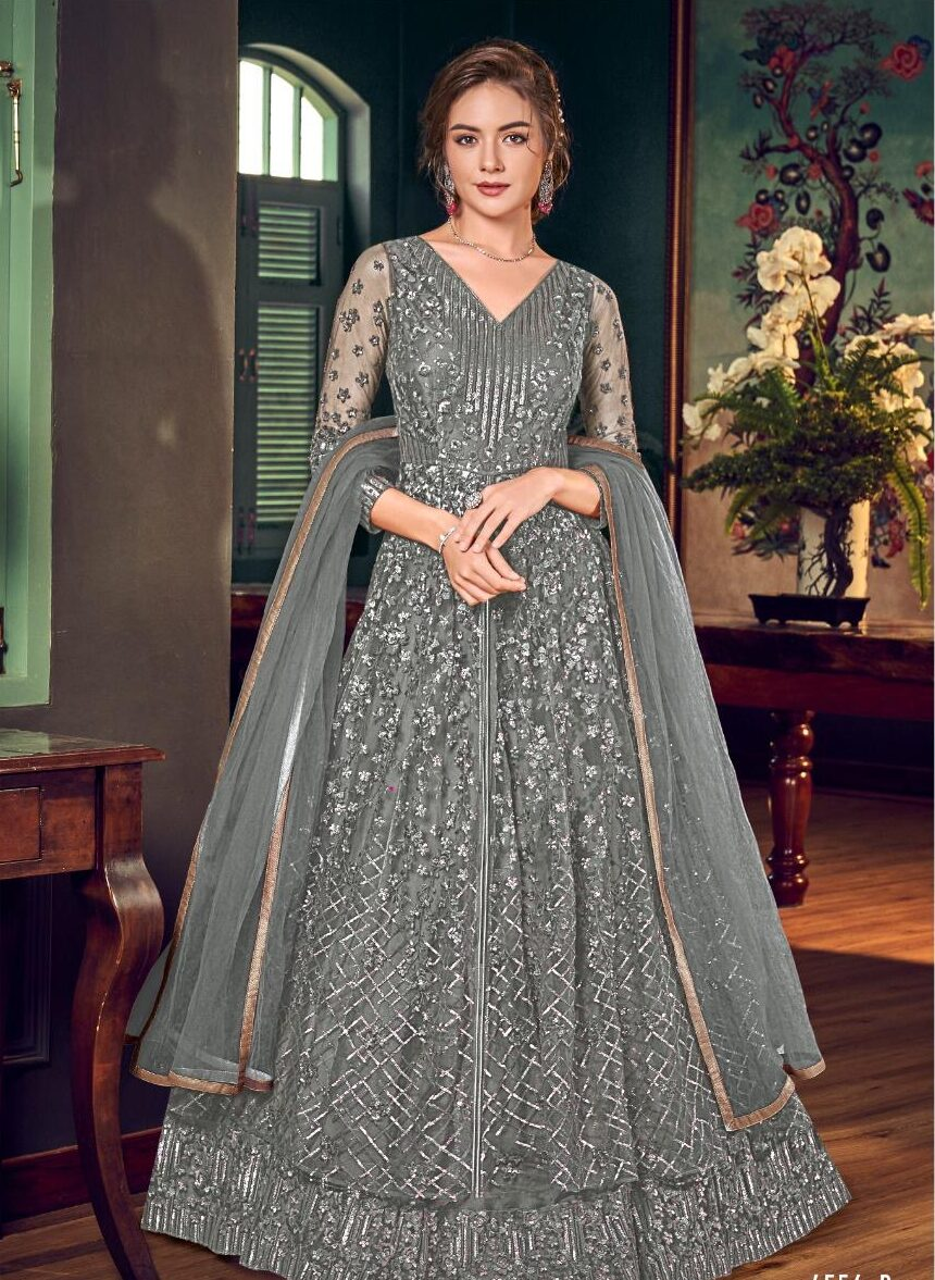 New Designer Best Embroidered Gown With Price