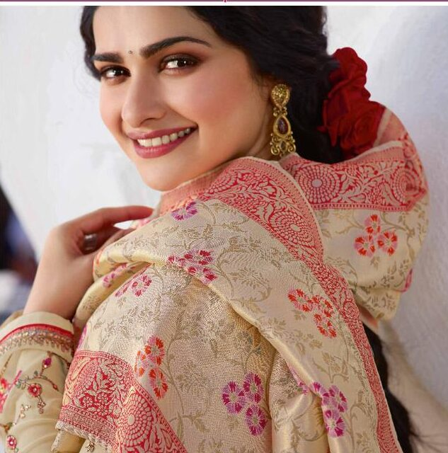 New Designer Cream Color Long Salwar suit with Price