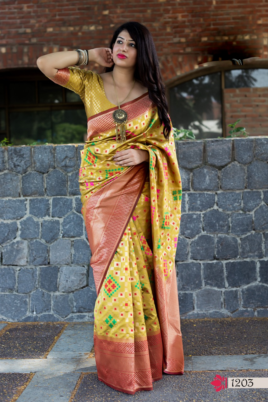 New Designer Fancy Silk Saree Collection for Wedding Party