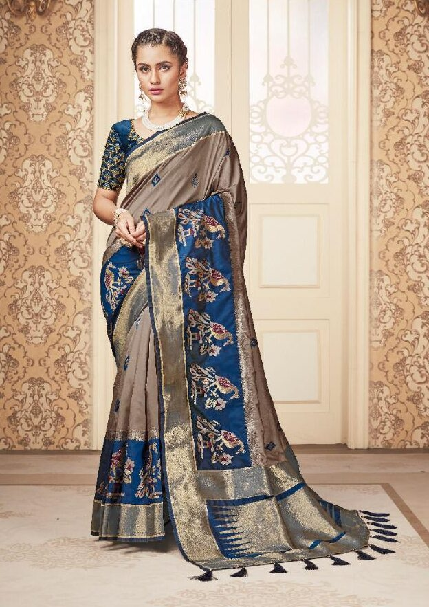 New Designer Silk Saree For Party Wear