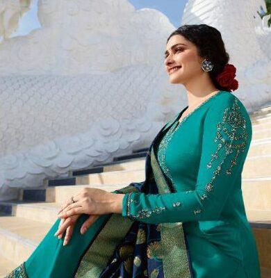New Designer Sky blue Color Best Salwar suit with Online